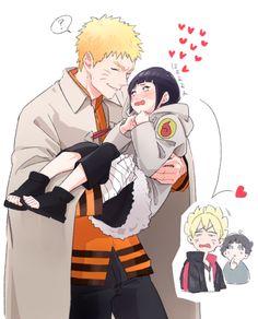 Naruto and Hinata so cute!!