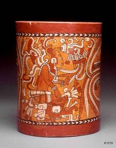 Kerr Number: Comments: The Maize God confronts God K Vases, Hispanic Art, Mayan History, Mayan Cities, Islamic Patterns, Mesoamerican, Inca, Mexican Art, Painting Lessons