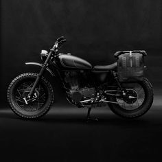 Sandqvist / Wrenchmonkees Pannier / Backpack - Black | Motorcycle Accessories | FREE UK delivery - The Cafe Racer