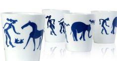 Ceramic cups Eddy Varekamp