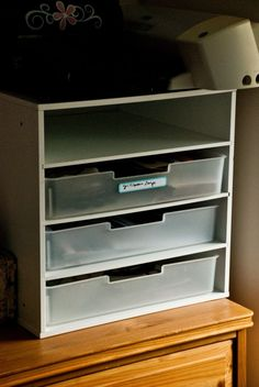 I can see these to replace the paper bins used now in my shelving and they'll be sturdier!