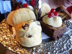cakes biscuits scones and brownies afternoon tea edinburgh