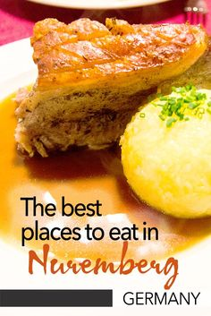 The best places to eat in Nuremberg in Germany. If you're looking for the best restaurants in Nuremberg'd Old Town then here are my suggestions. Nuremberg has some great local food and this is where you can find the best food in Nuremberg. Frankfurt, Munich, European Road Trip, European Travel, Europe Travel Guide, Travel Info, Travel Guides, Nuremberg Germany, Best Street Food