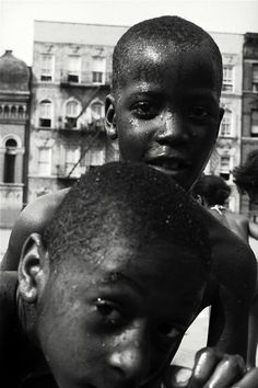 Leonard Freed - Harlem, New York, 1956. Something beautiful and optimistic about this series.