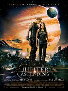 """Jupiter Ascending, Ein Film von Andy Wachowski mit Channing Tatum, Mila Kunis. Übersicht und Filmkritik. Die Bewohner der Erde ahnen nicht, dass das Leben auf ihrem und vielen anderen Planeten einst von außerirdischen Adelshäusern gepflanzt wurde. Sobald die kreierten Lebensformen einen bestimmten Entwicklungsgrad erreicht haben, werden sie """"geerntet"""", ..."""