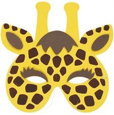 Djurmasker Giraff