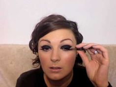 Dark lids inspired by Beyonce and Leona Lewis