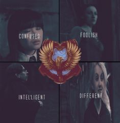 Ravenclaw examples of how every house produces different people - some stereotypical, some not so much