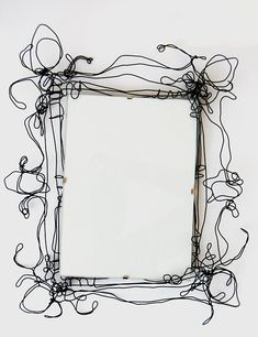 721b0d1b16d Items similar to Wire Picture Frames on Etsy · Barbed WireMetal ...