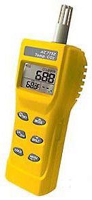 7752 CO2/Temp Meter Gas Detector, Digital