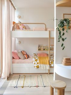 8 Bunk Beds That Your Kids Wont Want to Outgrow Bohemian Bedroom Decor Beds Bunk. 8 Bunk Beds That Your Kids Wont Want to Outgrow Bohemian Bedroom Decor Beds Bunk Kids Outgrow wont interior design Girls Bunk Beds, Four Bunk Beds, White Bunk Beds, Modern Bunk Beds, Twin Girls, Bohemian Bedroom Decor, Bedroom Rustic, Boho Decor, Kids Room Design
