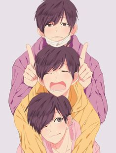 Find images and videos about osomatsu-san, ichimatsu and todomatsu on We Heart It - the app to get lost in what you love. Cool Anime Guys, Awesome Anime, Anime Boys, Manga Anime, Anime Art, Osomatsu San Doujinshi, Ichimatsu, Boy Art, Art Inspo