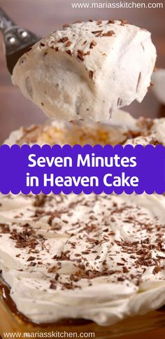 desserts For Two heavens - Seven Minutes in Heaven Cake Recipe ( Desserts, Cakes ) Angel Food Cake Desserts, Cookie Desserts, Easy Desserts, Delicious Desserts, Dessert Recipes, Trifle Desserts, Drink Recipes, Christmas Desserts, Christmas Baking