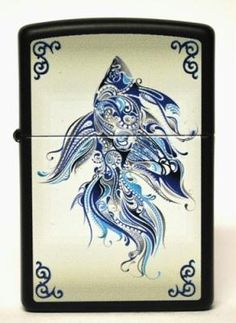 Abstract Fish Limited Edition Zippo http://r.ebay.com/Jb4VxR