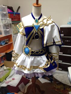 @00_yaduki / 夜月 Lana costume WIP | #Zelda #HyruleWarriors