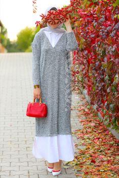 Amelia Maxi Shirt Dress #hijabfashion