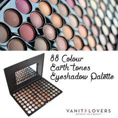 Ottieni uno stile semplice e glamour con la Palette 88 Colour Earth Tones di Blush Professional  http://www.vanitylovers.com/brands/blush-professional/blush-professional-88colour-hot-earth-palette.html?utm_source=pinterest.com&utm_medium=post&utm_content=vanity-neve-ombretti&utm_campaign=pin-vanity