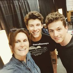Shawn Mendes with Charlie Puth