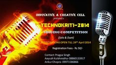 Hello Everyone, G.L. Bajaj Institute of Technology and Management is organizing it's annual fest TECHNOKRITI on the 26th of April.