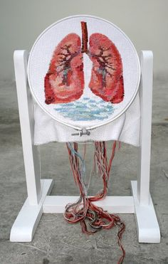 ana teresa barboza: For Niels! Cross Stitching, Cross Stitch Embroidery, Cross Stitch Patterns, Textiles Techniques, Cross Stitch Heart, Textile Fiber Art, Modern Embroidery, Diy Art, Lana