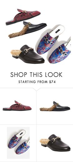 """""""loafers"""" by julia-sidorenko on Polyvore featuring STELLA McCARTNEY, Gucci, MANGO and Steve Madden"""