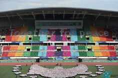 A Global Peace Festival with 000 People from 30 Countries was held in Republic of Korea - Religion World Baseball Field, Countries, Hold On, Religion, Korea, Peace, Naruto Sad, Korean, Sobriety