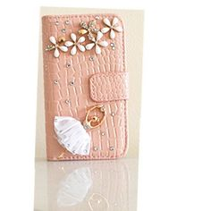 EVTECH(TM) Crocodile Series Luxury Crystal Diamond Bling Ballet Girl Design PU Wallet Leather Cover Case for iphone 4/4s (100% Handcrafted):Amazon:Grocery & Gourmet Food