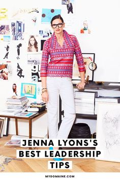 How to become a better leader, according to Jenna Lyons