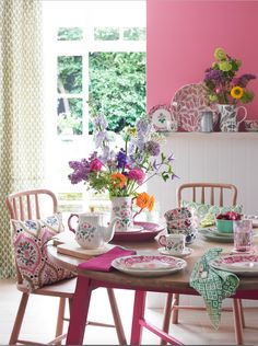 Festival Folk collection - image courtesy of Country Holmes and Interiors Magazine