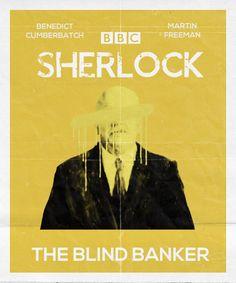 Minimalist Sherlock Posters