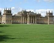 Blenheim Palace, back view, where we saw the horse show