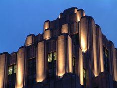 Art Deco - Edifice Alfred - Old Montreal