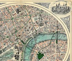 old maps London