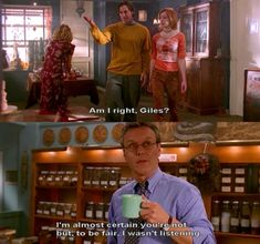 Giles was the best