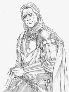 Ser Addam Marbrand by klawmccoy