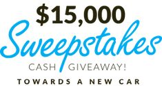 Need money for a car? This is a no-brainer! U can't win if U don't enter. Enter here... $Win $15000 towards car buy/lease! YES! God luck! :D #giveaway #sweepstakes #contests #competition #free #CARSHOWSweepstakes http://sweepstakes.car.show/?ref=gIWEa2