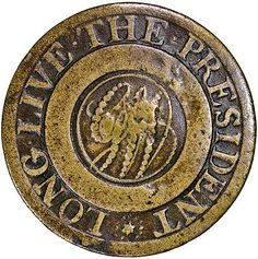 Extremely RARE 1789 Long Live The President (USD 9,995) eBay