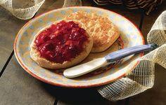 Cranberry Peach Jam