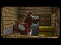 ✔ Minecraft: How to make a Horse Stable Minecraft Banner Designs, Minecraft Banners, Minecraft Creations, Minecraft Projects, Minecraft Furniture, Minecraft Decorations, Minecraft Buildings, Minecraft Dog House, Minecraft Horse Stables