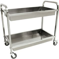 High & Low: Rolling Metal Carts
