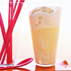 The world's easiest (and most impressive) dessert? Pour a can of San Pellegrino Limonata into a tall glass. Add a scoop of vanilla ice cream and top with a lemon wedge. Your guests will swear they've wandered into a cafe on the Amalfi Coast- kudos to PureWow for this.
