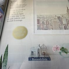 Lovely to see the gorgeous @aselizaslept featuring in the latest @yourhomeandgarden  Our New York Morning framed print fits perfectly! #newyork #scandi #aselizaslept #decorinspiration #interiorinspiration #shutthefrontdoor #shutthefrontdoorstore #stfdnz #yourhomeandgarden