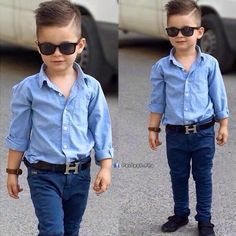 Little boy suave outfit