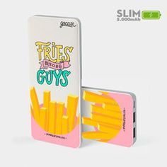 Carregador Portátil Power Bank Slim (5000mAh) - Fries