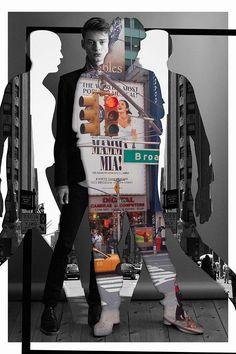 Editorial Design, Editorial Fashion, Male Editorial, Ad Design, Graphic Design, Poster Boys, Photoshop, Graphic Artwork, Aesthetic Design