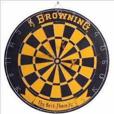 SPG BROWNING DART BOARD $24.99 BOBS