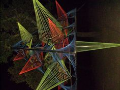 UV 3D StringArt Structure 1 by CosmicLotus