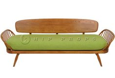 Studio couch designed by  Luigi Ercolani 1952.  Available to hire from  http://www.hipprops.com/Ercolani,_Luigi/Studio_Couch #FurnitureHire #EventHire #PropHire #StudioCouchHire