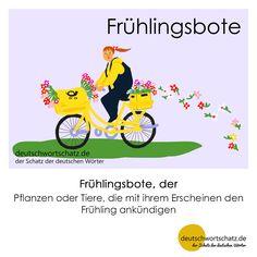 Frühlingsbote - deutschwortschatz.de / der Schatz der deutschen Wörter