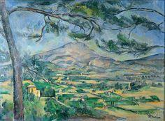 Cezanne/Mount Sainte Victorie/Post Impressionism